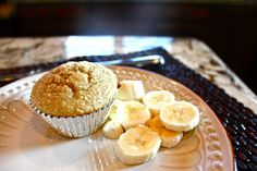 Just tried and they were delicious. WHOLE FOOD NOT FAST FOOD: Healthy banana muffin