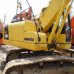 Used PC100-6E Komatsu excavator is original from Japan. It is in high quality and good performance in Shanghai...