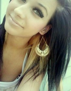 She looks so pretty. Definitely makes me want to get my Monroe pierced #monroe #piercing #piercings