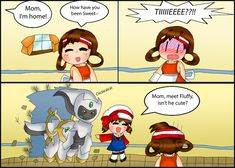 Pokemon Comic: Visitor by purplemagechan on deviantART