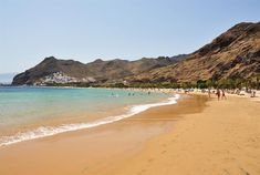 Playa de Las Teresitas, Tenerife - Îles Canaries (Espagne)