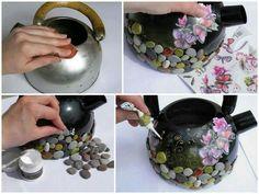 Cafetera reciclada