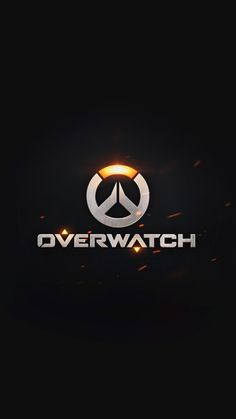 overwatch logo simple game art illustration dark iphone6 plus...