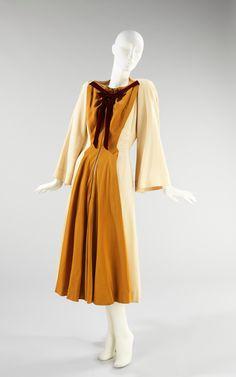 Dress Designer: Charles James  (American, born Great Britain, 1906–1978) Date: 1943 Culture: American Medium: silk