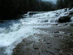 Wiscoy Falls