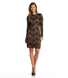 Love this dress! Long Sleeve Lace Fashion! #lace #fashion #Christmas_List