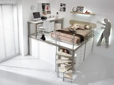 Bedroom bunk beds Design Ideas, Pictures, Remodel and Decor