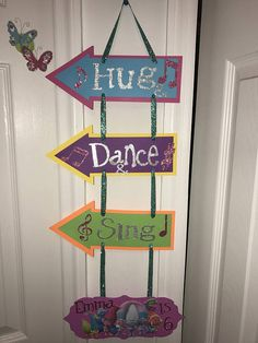 Hey, I found this really awesome Etsy listing at https://www.etsy.com/listing/539983388/trolls-happy-birthday-door-sign