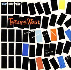 Various US labels (2) - jazz album covers