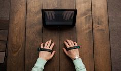 AirType keyless bluetooth keyboard fits in the palm of your hand - designboom   architecture