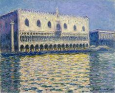 Claude Monet, The Palace of the Doges, 1908