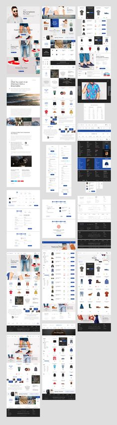 A modern, stylish, and intuitive assistant for creating your best online store! This UI Kit includes 6 categories: Samples, Home page elements, Product & catalog page elements, Sliders, Headers & footers, Cart & checkout page elements, and Article.