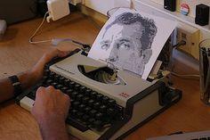 Typewritten Portraits – Schreibmaschinenkunst
