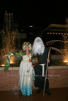 Original Four Season Trees, Mother Nature and Father Time Group Costume ...This website is the Pinterest of birthday cakes