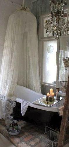3 Superb Tips: Shabby Chic Pink Doll Houses shabby chic bedroom duck egg.Shabby Chic Design Wedding Invitations shabby chic pillows little girls. Baños Shabby Chic, Estilo Shabby Chic, Shabby Chic Homes, Interior Flat, Interior Design, Interior Ideas, Home Design, Design Ideas, Design Design