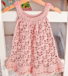 Crochet dress PATTERN Chantilly Lace Sundress by monpetitviolon