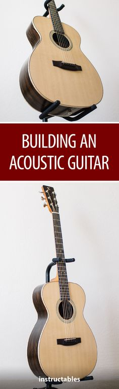 Building an Acoustic Guitar #woodworking #instrument
