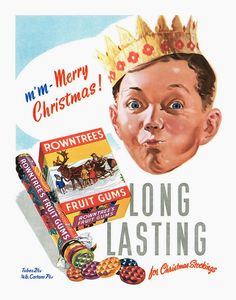 vintage everyday: 40 Vintage Christmas Advertisements from the 1940s