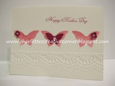 Charlette's Creative Corner: Mother's Day card