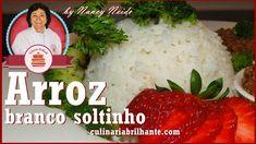 Como fazer arroz branco soltinho | Culinária Brilhante Nancy Neide