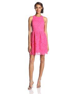 Trina Turk Women's Jaylen Rose Bud Lace Dress at Amazon Women's Clothing store: