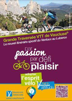 Grande Traversée VTT de Vaucluse - mountainbike route in Vaucluse