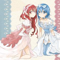 Puella Magi Madoka Magica - Kyoko and Sayaka