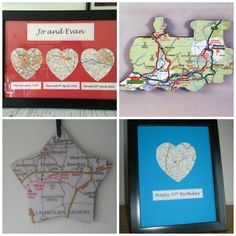 Taking orders for #ChristmasInJuly for map pieces #ecocreatehour #buyonlinehour #britishbizparty #creativebizhour