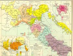 Italia hacia 1500