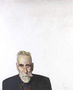 Self Portrait on White, 2012 by John Byrne on Curiator, the world's biggest collaborative art collection. Selfies, John Byrne, Digital Museum, Art Society, Collaborative Art, First Art, Portrait Inspiration, Portrait Art, Painting Portraits