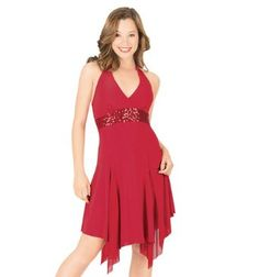 Halter Dress with Sequin Inserts,N8424,