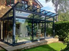 small glass structure - Google Search