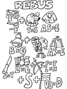 Sinterklaas rebus ( puzzel ) - Knutselpagina.nl - knutselen, knutselen en nog eens knutselen. Escape Room, Coloring Pages, Doodles, Comics, School, Projects, Kids, Gifts, Quote Coloring Pages