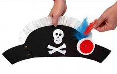 DIY Kids Pirate Hat | 25 DIY Pirate Costume Ideas, check it out at http://diyready.com/25-argh-tastic-diy-pirate-costume-ideas
