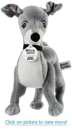 Jenna Marbles Kermie Worm Stuffed Animal Collectible Squeaker Toy