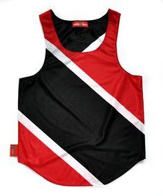 Trinidad & Tobago Flag Tank Top