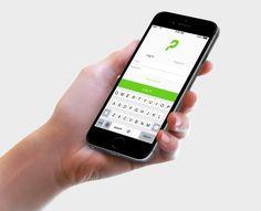 Mobile App Login Screen. Designed by MirzaIftekar  Login MobileApp UIDesign UX