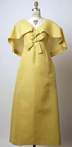 Evening Ensemble (shown sans coat), House of Patou (French, founded 1919), Paris: ca. 1968, French.