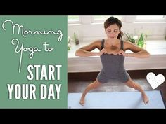 27 Min Yoga To Start Your Day is a yummy full body sequence to get you stretched and poised for an awesome day.