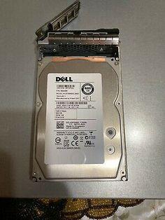 """Dell W348K 600GB HGST HUS156060VLS60 3.5/""""SAS 6Gbs 15K Hard Drive W//F238F Tray"""