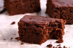 Vegan Brownies -- Satisfy your sweet tooth with these cakey, chocolaty dairy-free brownies