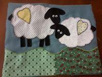 Pano de prato ovelhas.