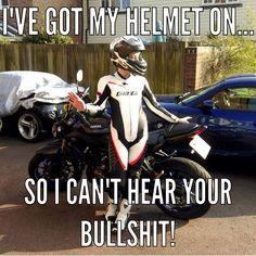 18 Motorcycle Memes That Are Just Plain Funny – – 18 Motorrad Memes, die einfach lustig sind – – Bike Humor, Motorcycle Humor, Car Humor, Motorcycle Tips, Women Motorcycle, Biker Chick, Biker Girl, Lady Biker, Easy Rider