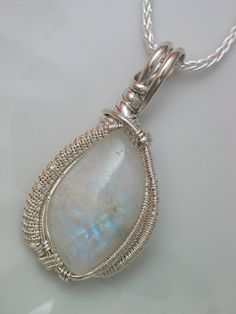 Rainbow Moonstone pendant