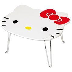 ハローキティ キティ形折りたたみテーブル(アイラブキティR)【サンリオ  (Sanrio)】【ハローキティ  (Hello Kitty)】【キティ】【キティちゃん】【ハロー・キティ】サンリオ公式「サンリオオンラインショップ」【楽天市場】