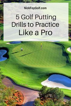5 Putting Drills to Help Your Golf Game Improve Instantly. These golf practice drills come from a pro who was kind enough to share them with us to use on the blog. Click to read. (golf, golf tips, golf practice, golf putting, golf short game drills)
