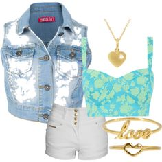 """Golden Glory"" on Polyvore"