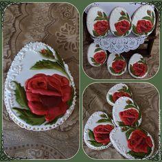"""Купить Имбирный пряник """"Роза"""" - разноцветный, алый цветок, алая роза, имбирные пряники"""
