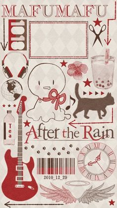 After the rain Kawaii Anime, Anime Chibi, Anime Art, Rain Wallpapers, Cute Cartoon Wallpapers, Cute Anime Wallpaper, Iphone Wallpaper, Vocaloid, Wallpaper Fofos