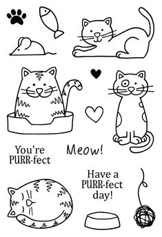 grown up coloring pages cats - photo#29